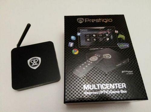 Prestigio multicenter - новая tv-приставка на android