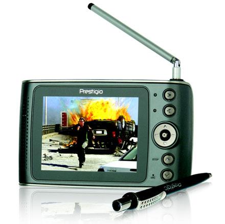 Prestigio выпустила карманный телевизор с жестким диском