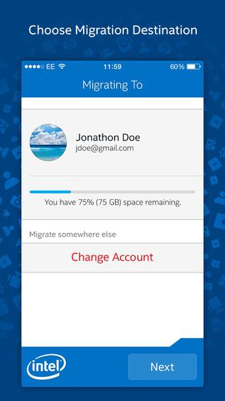 Приложение intel easy migration позволит быстро перенести данные со смартфона на chromebook