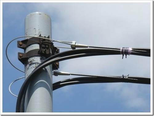 Прокладка кабеля на стальном канате (тросе). отсутствие разрешения не освобождает от ответственности за проделанный фронт работ.