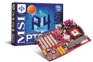Pt8 neo - системная плата на чипсете via fsb800 от компании msi