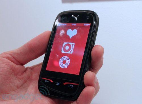Puma phone - телефон на солнечных батареях (8 фото + видео)