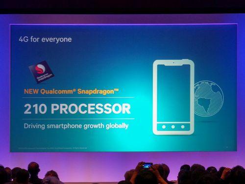 Qualcomm snapdragon 210: lte-a для бюджетных смартфонов