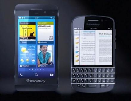 Рассекречены смартфоны blackberry нового поколения