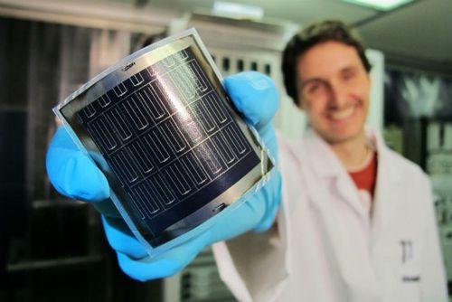 Рекорд эффективности пленочных солнечных элементов