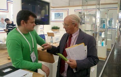 Резидент оэз «дубна» на европейской выставке medica