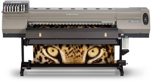 Ricoh выпустила новую серию латексных широкоформатных принтеров ricoh pro l4100