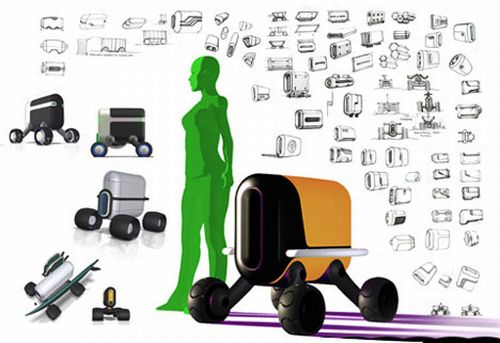Робот-носильщик kompakt взвалит на свои плечи ваш багаж (4 фото)