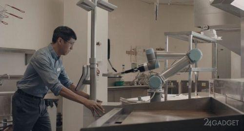 Робот с ии для приготовления гамбургеров (4 фото + видео)