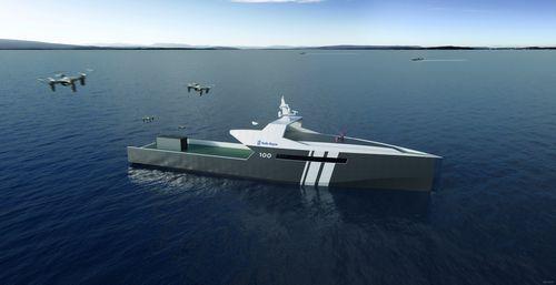 Rolls-royce выпустит беспилотный корабль для вмф великобритании (3 фото)