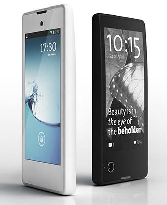 Российский смартфон с двумя экранами в декабре выйдет на международный рынок