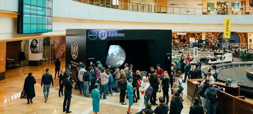 S7 airlines представила установку imagination machine, позволяющую силой воображения управлять полетом
