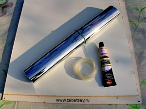 Самодельный солнечный концентратор из зеркальный пленки