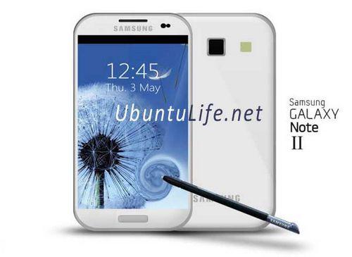 Samsung galaxy note 2 обещают в октябре 2012