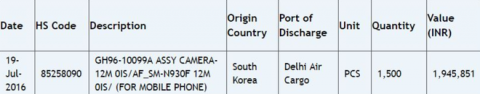 Samsung galaxy note 7 будет оснащён 12-мегапиксельной основной камерой