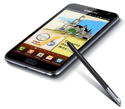 "Samsung galaxy note ii будет оснащен ""гибким дисплеем"""