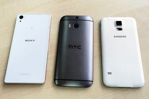 Samsung galaxy s5, sony xperia z2, htc one m8: сравнение трех флагманских смартфонов