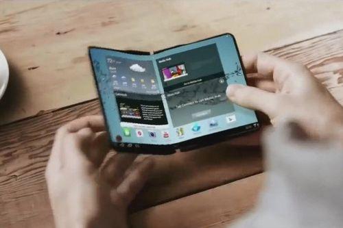 Samsung представила первый прототип планшета со складным дисплеем