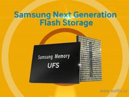 Samsung представляет первые в мире накопители на базе ufs 2.0