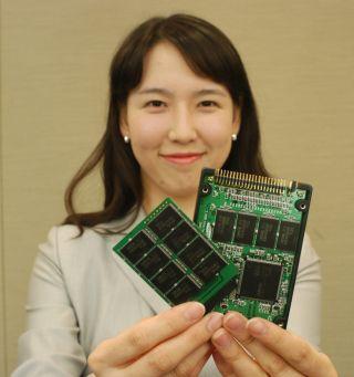 Samsung разработал первый твердотельный диск на основе nand