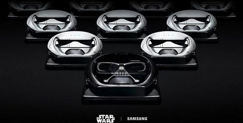 Samsung выпустят пылесосы в виде дарта вейдера и штурмовика