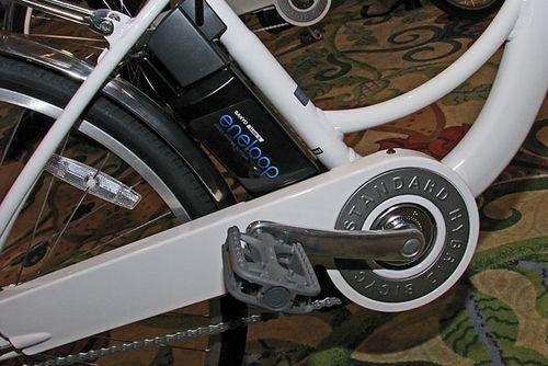 Sanyo eneloop - гибридный электро-велосипед (3 фото + видео)