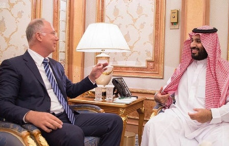Саудовский кронпринц иглава рфпи обсудили инвестиционное сотрудничество - «энергетика»