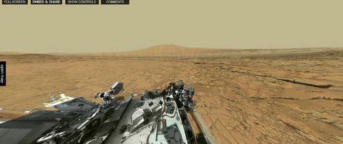 Сферические панорамы марса и curiosity