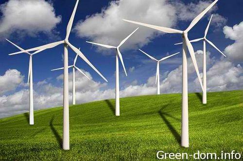 Шахты горного массива гарц - зеленая батарея для энергии ветра