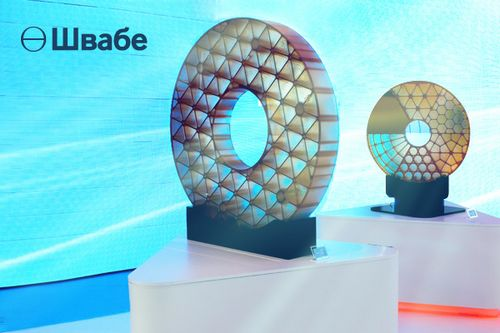 «Швабе» презентует облегченное и сверхоблегченное зеркала из астроситалла