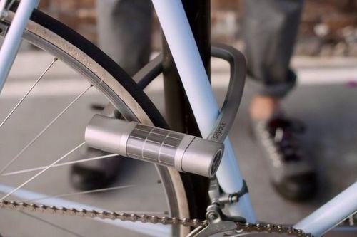 Skylock — беспроводный вело-замок на солнечных батареях