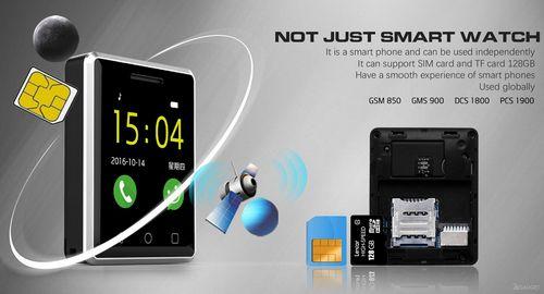 Смарт-часы no.1 g7 можно носить в виде кулона и использовать вместо смартфона (7 фото)
