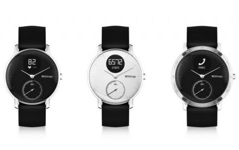 Смарт-часы withings steel hr оснастили датчиком сердцебиения и экраном e-ink