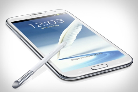 Смартфон samsung galaxy note iii получит огромный экран