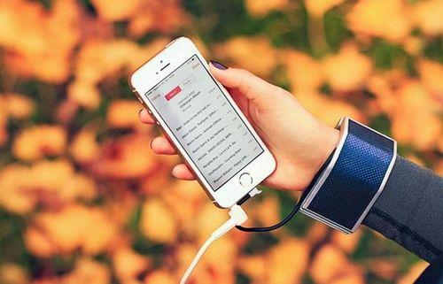 Смартфоны можно будет заряжать во время ходьбы