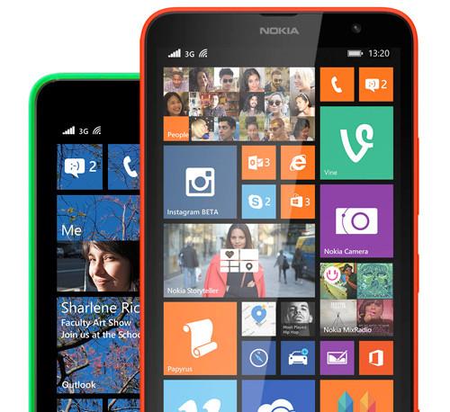 Смартфоны nokia lumia получают апдейт lumia cyan с ос windows phone 8.1