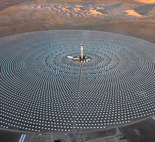 Solarreserve обеспечит энергией солнца миллион домов