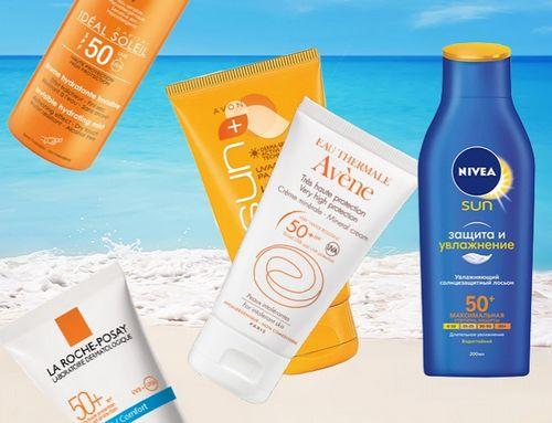 Солнцезащитные кремы могут содержать токсичные вещества