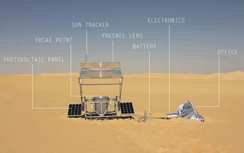 Солнечная 3d печать маркуса кайзера