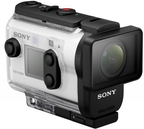 Sony action cam 4k fdr-x3000r совмещает передовые технологии и компактный форм-фактор