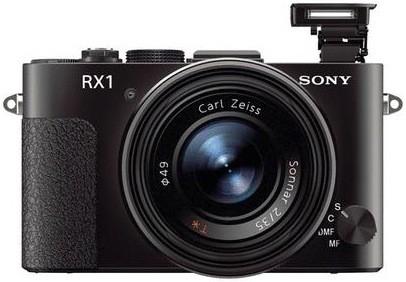 Sony готовит компактную фотокамеру rx1 с полнокадровым сенсором и несъемным светосильным объективом