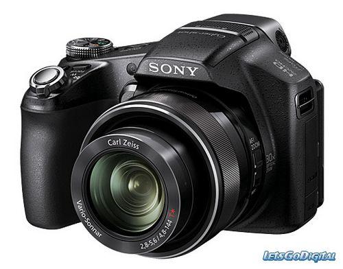 Sony готовит пару новых фотокамер cyber-shot класса суперзум