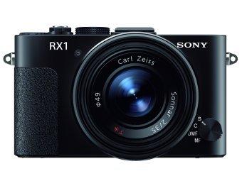 Sony показала компактный фотоаппарат c полнокадровой матрицей