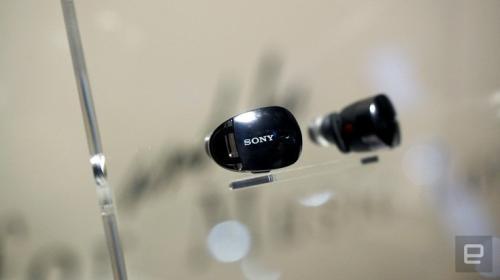 Sony показала прототип полностью беспроводных наушников