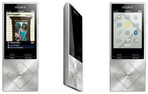 Sony представила два новых музыкальных плеера из линейки walkman