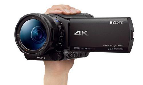 Sony представила компактную любительскую 4к-видеокамеру
