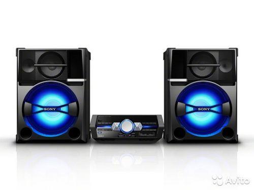Sony shake-66d - аудиосистема мощностью 3 000 вт