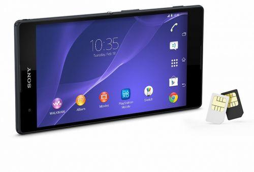 Sony xperia t2 ultra dual поступит в продажу в конце марта