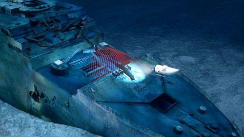 Состояние легендарного «титаника» будет задокументировано для истории в зd – компанией oceangate