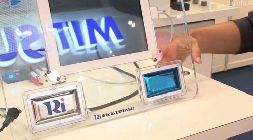 Создан «резиновый» дисплей. видео